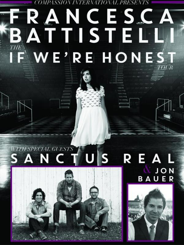 Francesca Battistelli, Sanctus Real & Jon Bauer